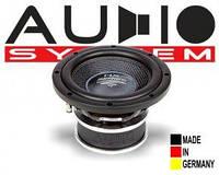 Сабвуфер автомобильный Audio System HX 08 SQ Сабвуферный динамик