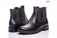 Ботинки женские кожаные 1132
