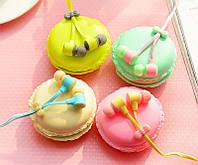 Наушники вкладыши Macaron. Sibyl Macarons