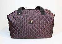 Стеганая женская спортивная сумка