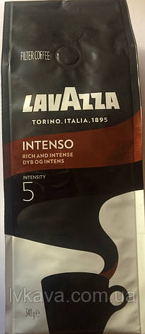 Кофе молотый Lavazza Intenso Filter coffee , 340 гр, фото 2