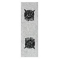 Фетр с принтом СОВА, 10x32 см, корейский жесткий 2 мм, фото 1