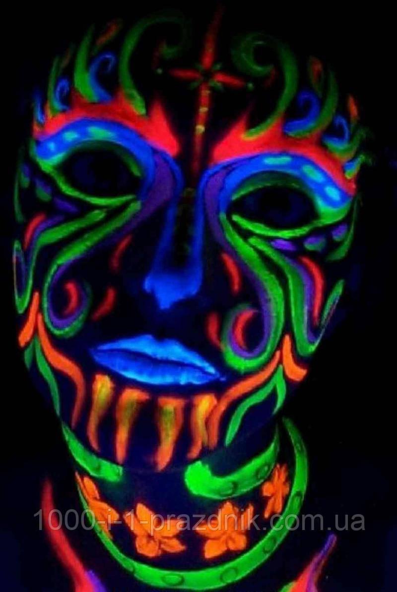 Грим флуоресцентний (білий)