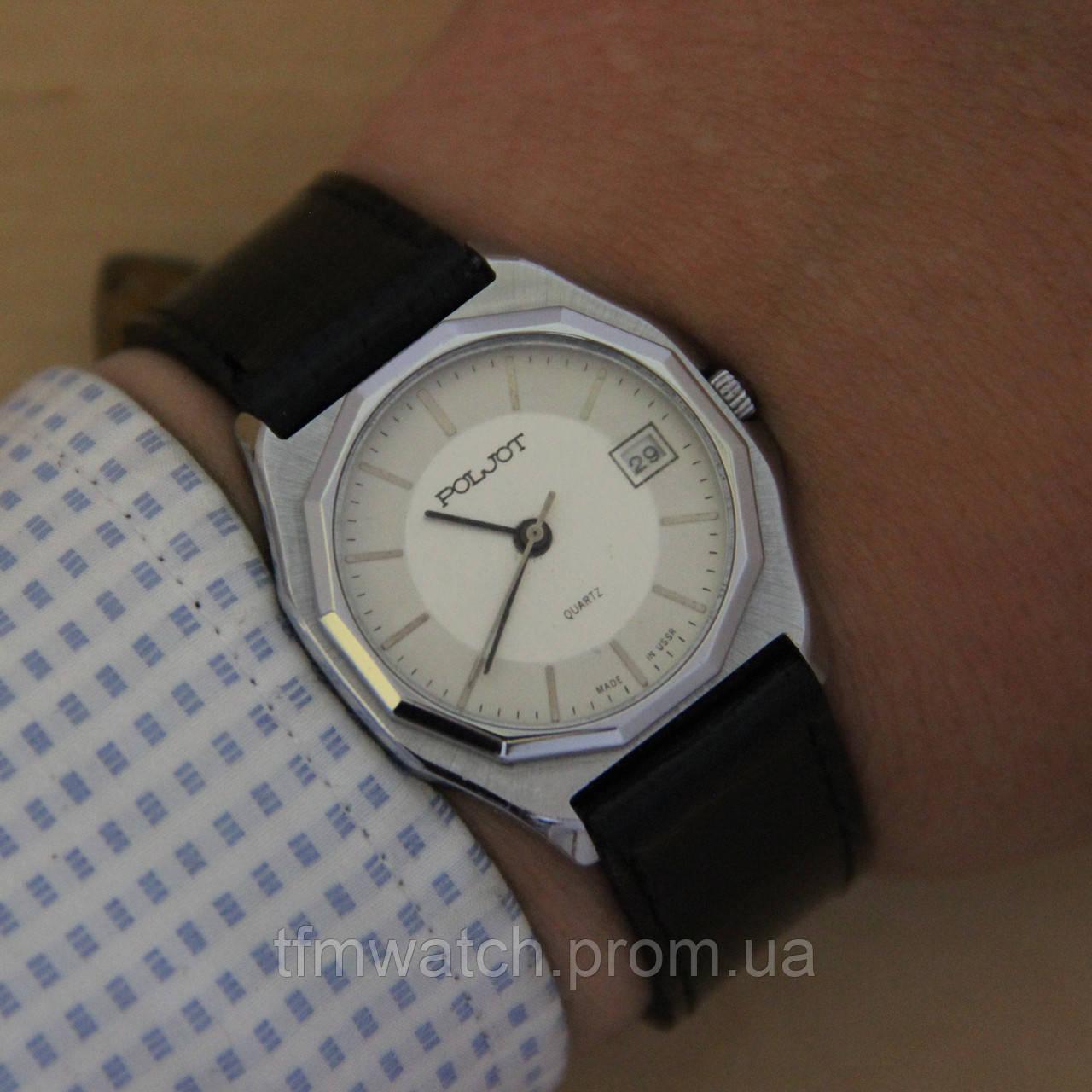 add7f1e7 Poljot quartz Полет кварц кварцевые часы СССР - Магазин старинных,  винтажных и антикварных часов TFMwatch