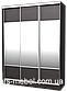 Шкаф купе (2200/2400/600), 3 двери, фото 3