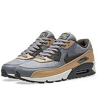 Оригинальные кроссовки Nike Air Max 90 Premium Cool Grey