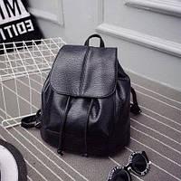 Рюкзак черный на затяжках, фото 1