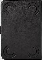 """Универсальный чехол Pro-case для планшета 7"""" three folders black, фото 1"""