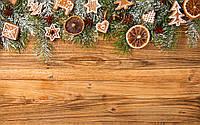 Фотофон виниловый, новогодний 31