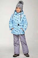 Зимний снежинки  для девочки от ТМ Baby Line. Размер 128