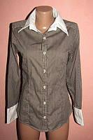 Рубашка,блуза р-р м,стрейч сост новой bien
