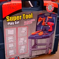Детский чемодан с инструментами