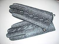 Перчатки женские зимние из натуральной кожи НА ШЕРСТИ