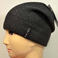 Мужская удлиненная шапка Unika с заклепкой