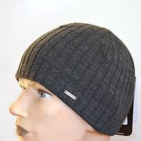 Мужская вязанная шапка на флисе Nord Kolin