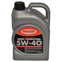 Синтетическое моторное масло MEGUIN MEGOL MOTORENOEL HIGH CONDITION 5W-40 5L, фото 1