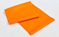 Лента для пилатеса zelart (эласт. лента) (р-р 1,5м x 15см x 0,35мм)  ( оранжевый )