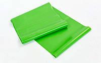 Лента для пилатеса zelart (эласт. лента) (р-р 1,5м x 15см x 0,35мм)  ( зеленый )