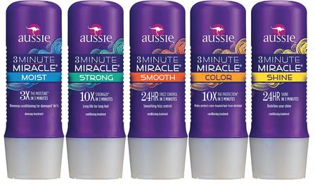 Укрепляющий кондиционер-маска для волос AUSSIE 3 Minute Miracle Strong Conditioner, фото 2