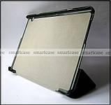 Голубой ультратонкий чехол книжка Huawei Mediapad T3 10 AGS-L09, чехол TFC эко кожа PU, фото 4
