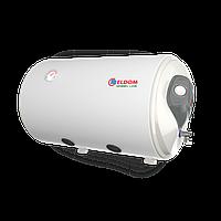 """Комбинированный горизонтальный бойлер ELDOM """"GRIN LINE"""" 80 л. 2 кВт открытый тэн теплообменник 0,35 м.кв"""
