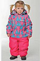 Термокобинезон зимний для девочки . Размеры 92