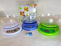 Весы кухонные электронные с чашкой, фото 1