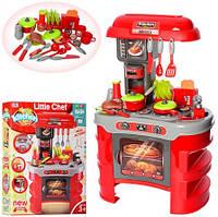 Игровой набор Кухня 008-908A тостер, свет, звук. Красная кухня