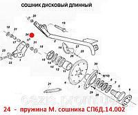 Пружина сошника СП6Д.14.002.  Запчасти к сеялкам СПУ, фото 1
