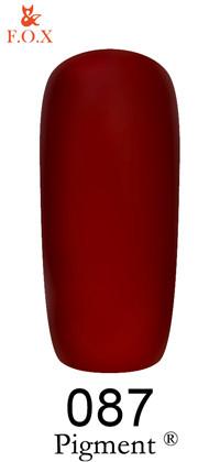 Гель-лак FOX Pigment №087 6 ml
