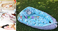 Гнездо для новорожденного 3в1 (подушка для беременной, подушка для кормления) + подушка