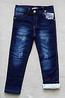 Теплые детские джинсы на махре Tati для мальчиков 5-8 лет Турция, фото 1