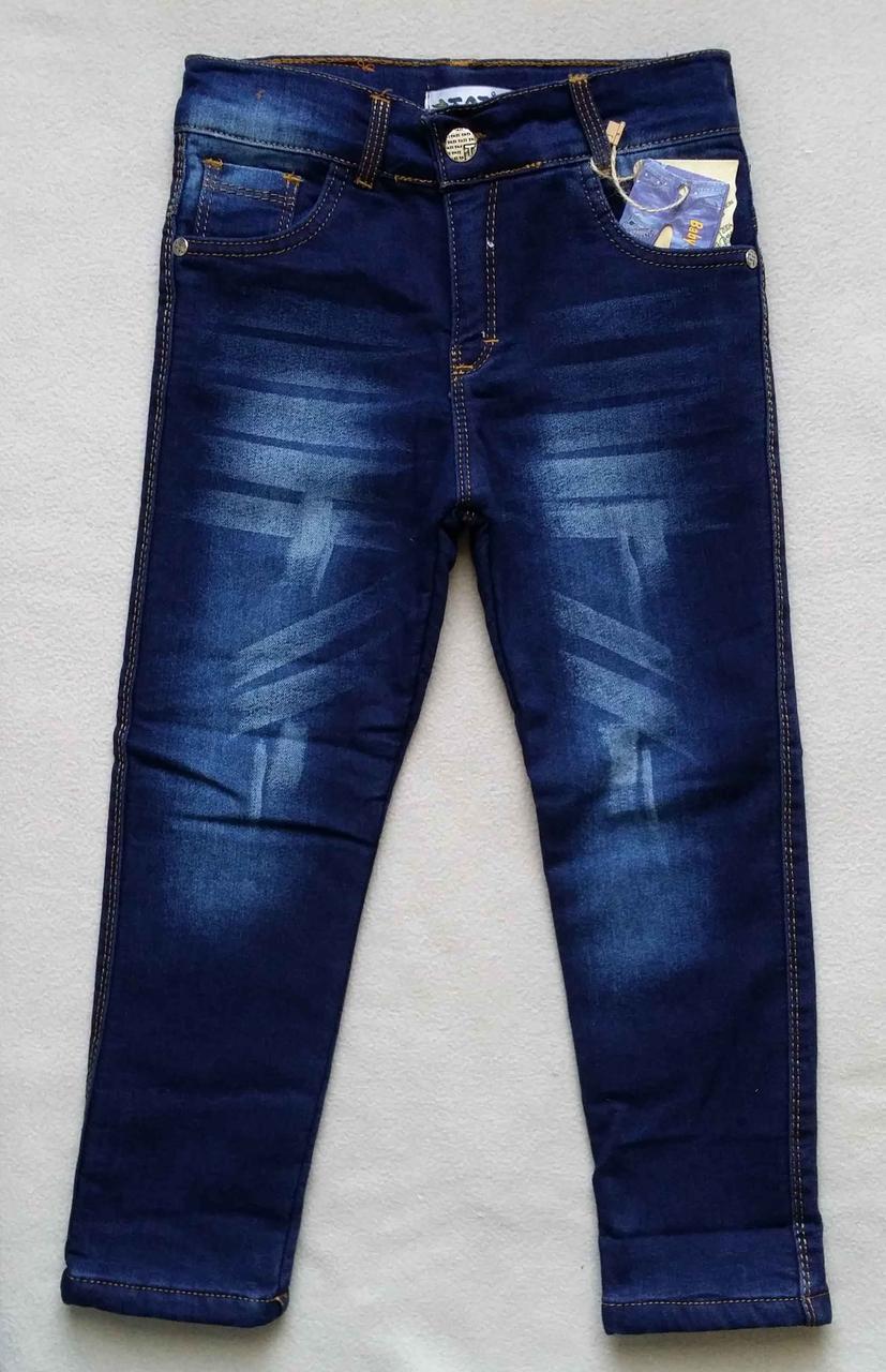 df48c70830c Теплые детские джинсы на махре Tati для мальчиков 5-8 лет Турция ...
