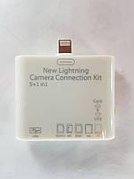 Адаптер кардридер Camera Connection Kit для iPhone 5 5S SE 6 6S Plus 7 / iPad Air / iPad mini