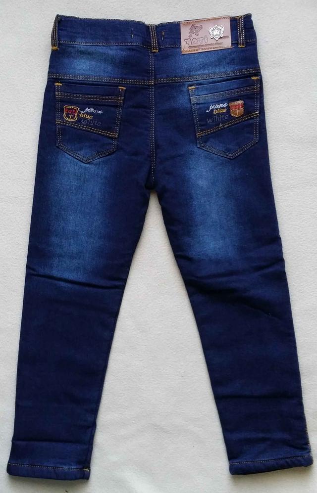 70c375738d4 Теплые детские джинсы на махре Tati для мальчиков 5-8 лет Турция оптом