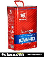 Полусинтетическое моторное масло Wolver Super Light 10w-40 4l
