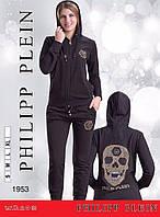 """Женский спортивный костюм с капюшоном """"Philipp Plein"""""""