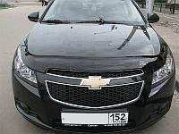 Дефлектор капота (мухобойка) Chevrolet Cruze 2009- Код:73444645