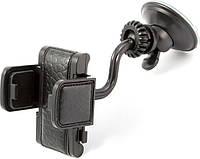 Подставка держатель телефона PH-601 CarLife, 40-95мм/ 360°, жесткая ножка