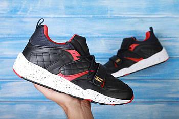 Мужские кроссовки Puma Kith x Highsnobiety (Пума) черно-красные