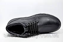 Кожаные ботинки мужские Kardinal, зимние на меху, фото 2