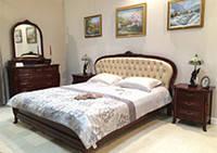 Кровать 1600 (кожа) Arcad