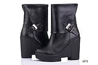Женские ботинки кожаные 1071