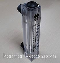 """Ротаметр панельного типа Z-300K1, 1/2"""", 0.5-4.0 л/мин (без регулятора потока)"""