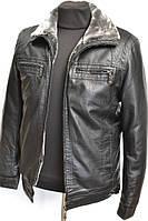 Зимние мужские куртки экокожа  МАХ 226