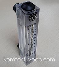 """Ротаметр панельного типа Z-300K3, 1/2"""", 2-18 л/мин (без регулятора потока)"""