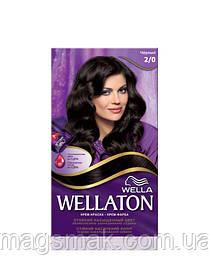 Крем-краска для волос Wellaton 2/0 Черный