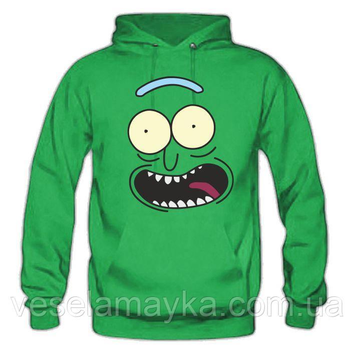 Толстовка Pickle Rick 2 (Огурчик Рик)