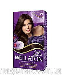 Крем-краска для волос Wellaton 3/0 Темный шатен