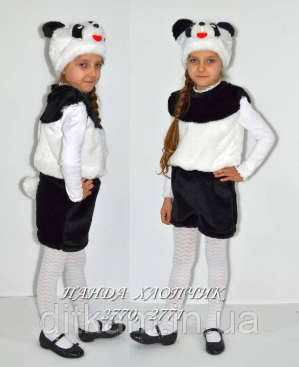 Детский карнавальный костюм Панды